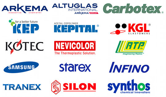 Arkema, Korea Engineering Plastics, Kotec Corporation, Nevicolor, RTP Imagineering Plastics, Samsung Cheil Industries, Samsung Chemical, Silon, Slovnaft TVK, Synthos, Total Petrochemicals & Refining, Viba